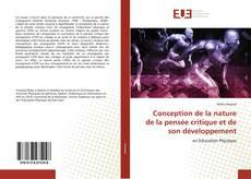 Bookcover of Conception de la nature de la pensée critique et de son développement