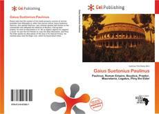 Bookcover of Gaius Suetonius Paulinus