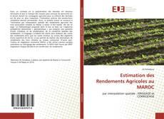 Bookcover of Estimation des Rendements Agricoles au MAROC