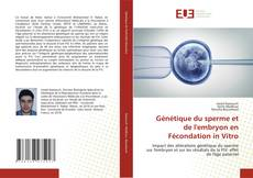 Génétique du sperme et de l'embryon en Fécondation in Vitro kitap kapağı