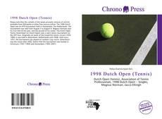 Bookcover of 1998 Dutch Open (Tennis)