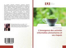 Capa do livro de L'émergence des activités informelles alimentaires et ses risques