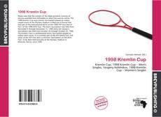 1998 Kremlin Cup kitap kapağı