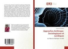Copertina di Approches Anthropo-Sociologiques et Juridiques