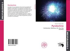 Bookcover of Pyrotechnie