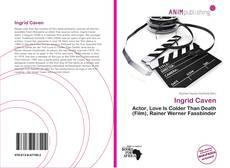 Buchcover von Ingrid Caven