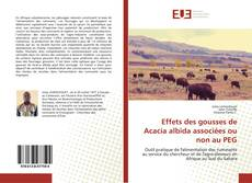 Portada del libro de Effets des gousses de Acacia albida associées ou non au PEG