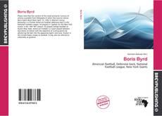 Boris Byrd kitap kapağı