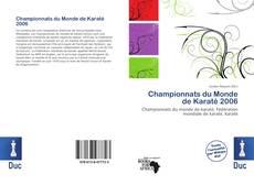 Обложка Championnats du Monde de Karaté 2006