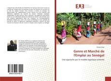 Buchcover von Genre et Marché de l'Emploi au Sénégal