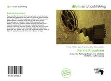 Обложка Karina Kraushaar