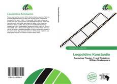 Bookcover of Leopoldine Konstantin