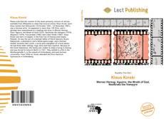 Bookcover of Klaus Kinski
