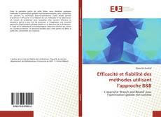 Buchcover von Efficacité et fiabilité des méthodes utilisant l'approche B&B