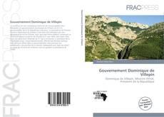 Capa do livro de Gouvernement Dominique de Villepin