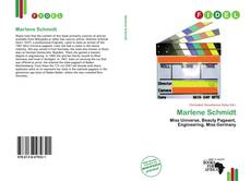 Bookcover of Marlene Schmidt