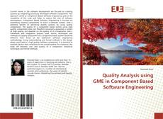 Обложка Quality Analysis using GME in Component Based Software Engineering