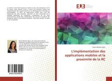 Couverture de L'implémentation des applications mobiles et la proximité de la RC