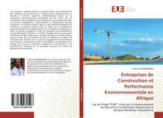 Portada del libro de Entreprises de Construction et Performance Environnementale en Afrique