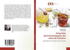 Bookcover of Propriétés pharmacologiques des miels de Palestine