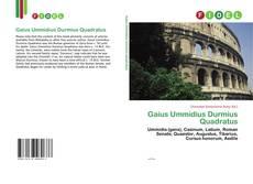 Portada del libro de Gaius Ummidius Durmius Quadratus