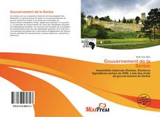 Portada del libro de Gouvernement de la Serbie