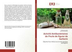 Buchcover von Activité Antibactérienne de l'huile de figuier de barbarie