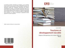 Couverture de Tourisme et développement durable