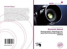 Capa do livro de Karimeh Abbud