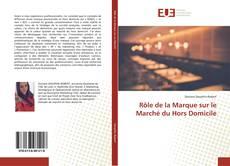 Capa do livro de Rôle de la Marque sur le Marché du Hors Domicile