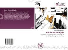 Bookcover of John Richard Hyde