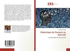 Bookcover of Didactique du français au Burundi