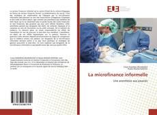 Couverture de La microfinance informelle