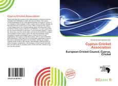 Bookcover of Cyprus Cricket Association