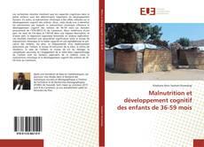 Copertina di Malnutrition et développement cognitif des enfants de 36-59 mois