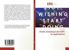 Copertina di Étude analytique des EDFs et applications