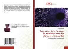 Estimation de la fonction de régression avec des données manquantes kitap kapağı