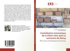 Couverture de Contribution économique de la filière rotin dans la commune de Dzeng