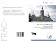 Portada del libro de Gouvernement Georges Clemenceau (2)