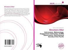 Buchcover von Dinsmore Alter