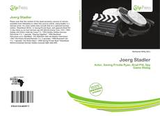Joerg Stadler kitap kapağı