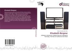 Bookcover of Elisabeth Bergner