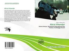 Portada del libro de Alicia Vikander