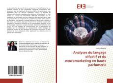 Copertina di Analyses du langage olfactif et du neuromarketing en haute parfumerie