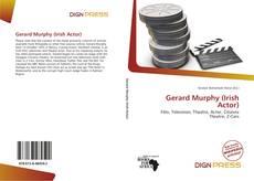 Capa do livro de Gerard Murphy (Irish Actor)