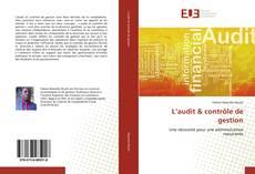 Couverture de L'audit & contrôle de gestion