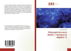 Bookcover of Polycopié de cours Maths 1 (Analyse & Algèbre 1)