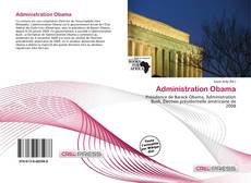 Capa do livro de Administration Obama