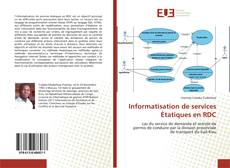 Couverture de Informatisation de services Étatiques en RDC