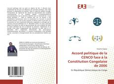 Bookcover of Accord politique de la CENCO face à la Constitution Congolaise de 2006